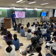 宇大附属小 南極授業・日本国内での取り組み(宇大附属小)