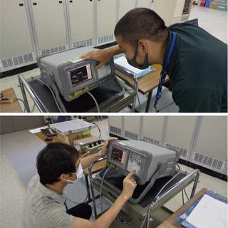 衛星通信システム運用訓練