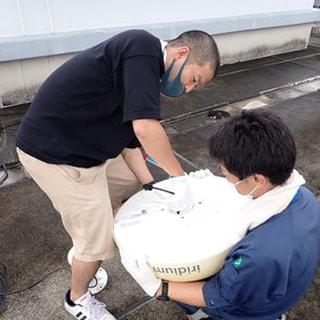「しらせ」で使用する衛星通信の試験