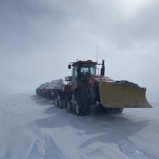 ナンセン氷原燃料デポ旅行
