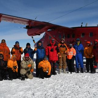 【2018.11.27】南極内陸高地で勢ぞろい