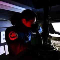 極夜のオゾン全量観測